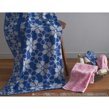 【単三電池 6本】おまけ付き極ふわなめらか! 金本徳 Edel(エーデル) バスタオル 綿100% Blue(ブルー)&Pink(ピンク) 12枚セット(2色×6枚) No.12-1000