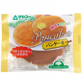 【単三電池 3本】付き国産小麦由来の小麦粉を使用したふんわりパンケーキ。 おやつ 国産小麦由来の小麦粉を使用したふんわりパンケーキ。