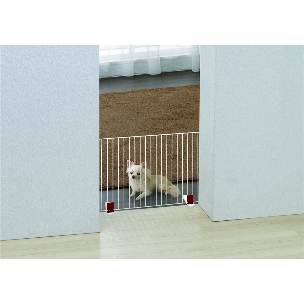 fence フェンス 事故防止 ペットフェンス カラー:ホワイト
