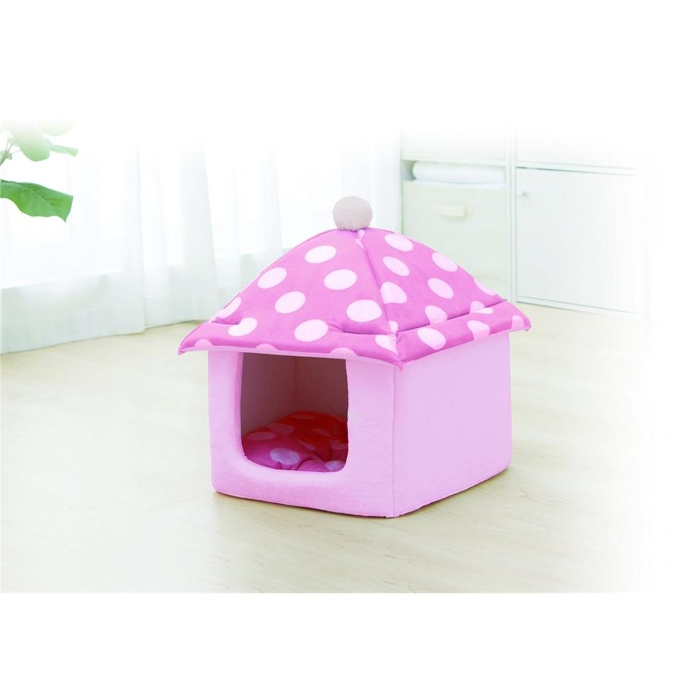 子犬用 犬用 メッシュ生地 わんこハウス カラー:ピンク