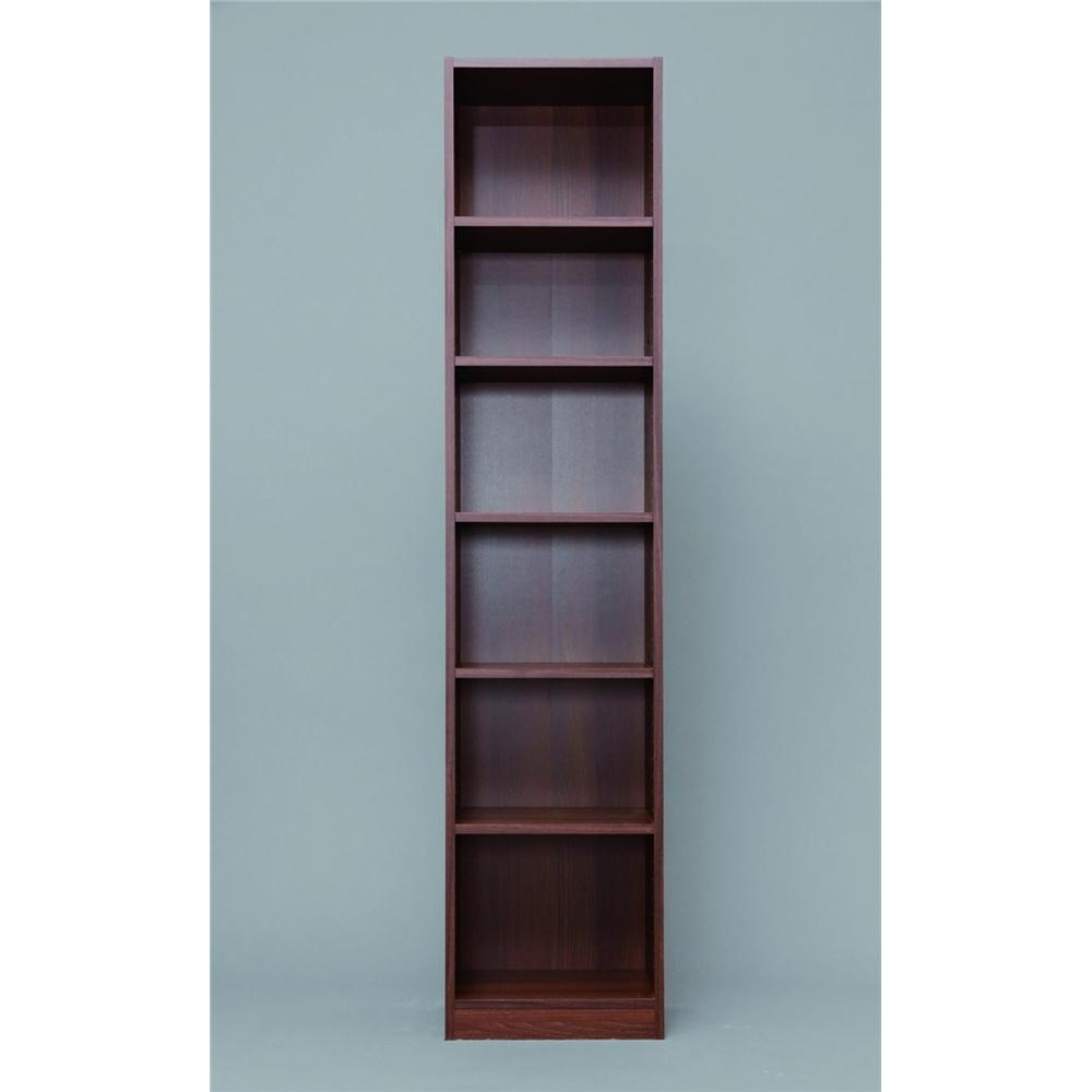 隙間家具 隙間 すきま 高さ 180cm スペースフィットラック(幅40cm)ウォールナット 1840