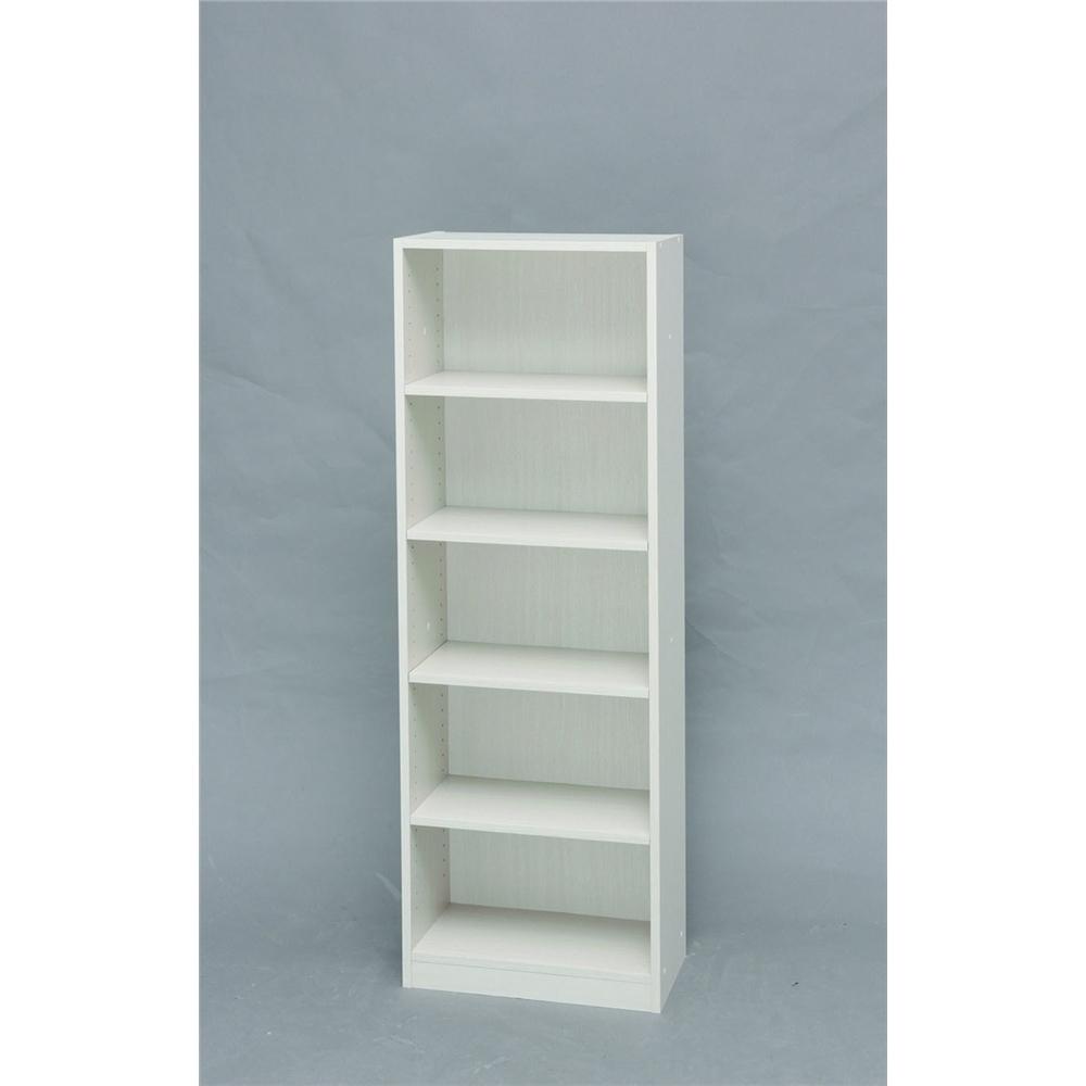 フリーラック キッチン収納 可動棚タイプ スペースフィットラック (幅50cm)オフホワイト 1550