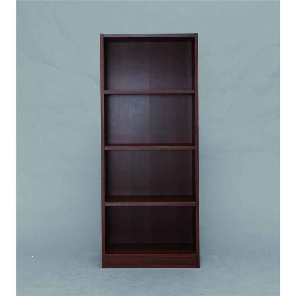 収納棚 収納家具 シンプル スペースフィットラック (幅50cm)ウォールナット 1250