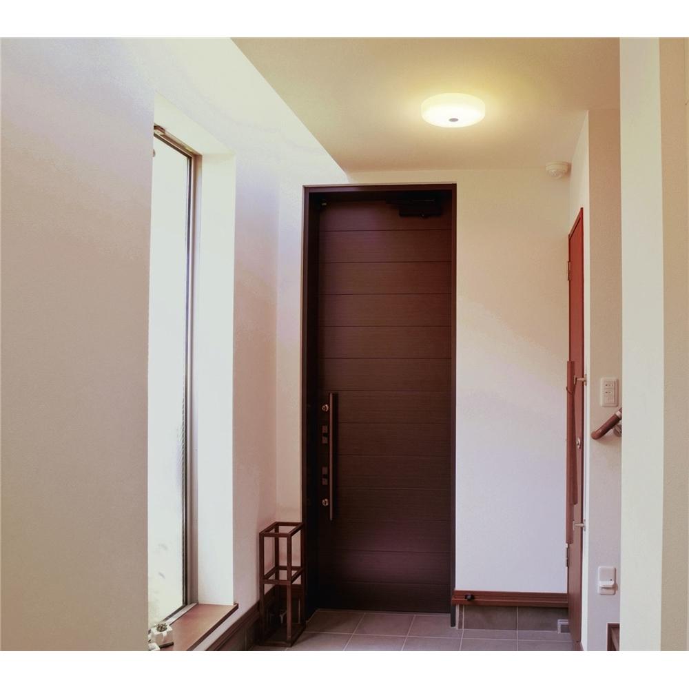 照明 ライト LEDライト 玄関、キッチン、物置 に LED小型シーリング センサー付 18LMS/電球色