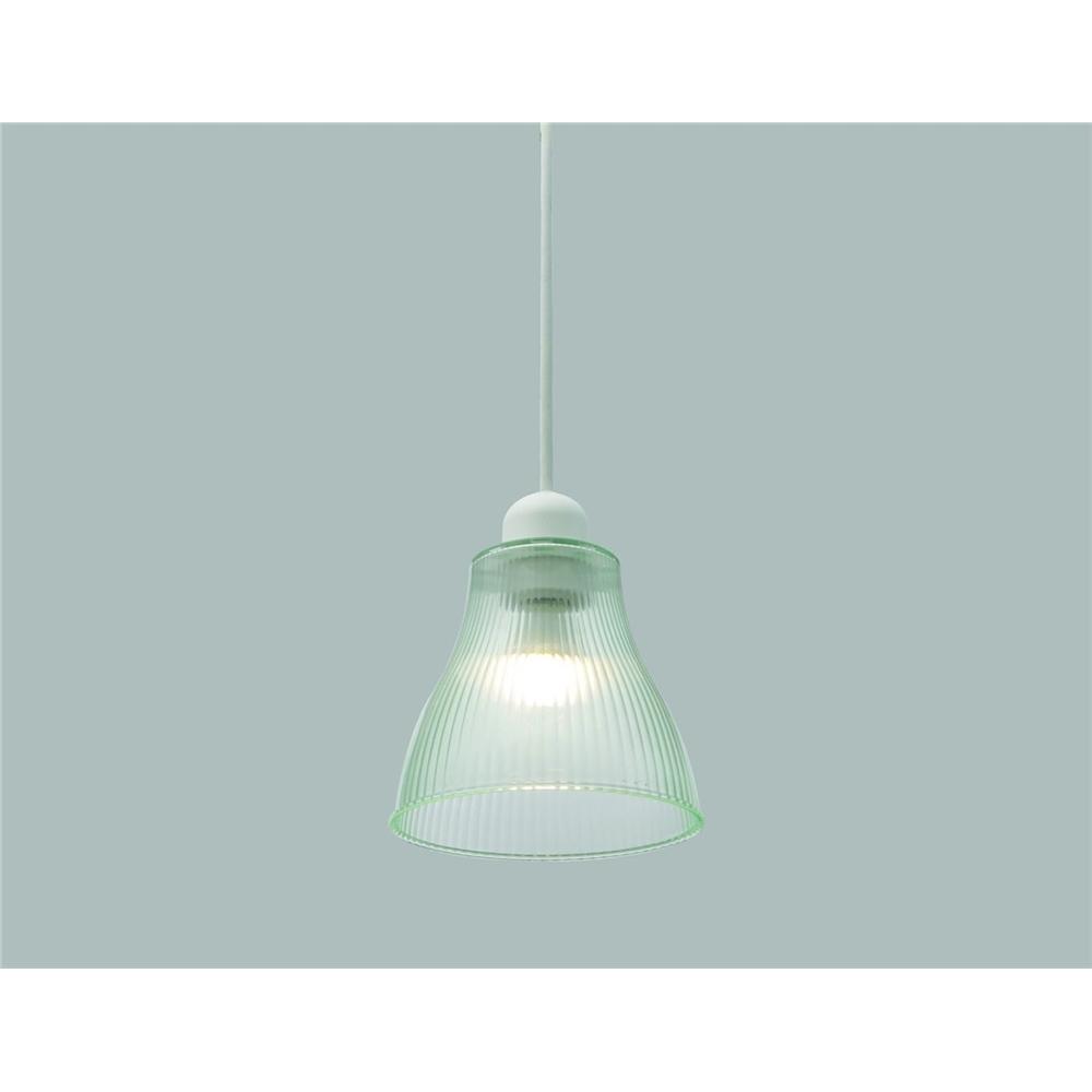 ペンダント照明 吊り下げ照明 高級感を演出 ガラス調 LEDペンダントライト Sサイズ クリアグリーン