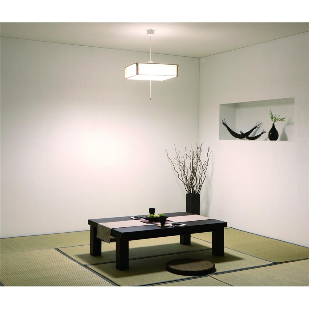 照明器具 吊り下げ照明 調光2段階+常夜灯 和風ペンダントライト8畳用 昼光色