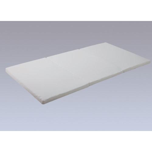 折りたたみマットレス 表は肌触りの良い、ニット生地、裏はさわやかな、メッシュ生地 寝具 エアリーマットレス 【単品販売】SMAR-SD