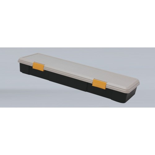 コンテナボックス ワンボックスカーやミニバンの、ラゲッジスペースで 安心 RVBOX カーキ/ブラック  4点セット