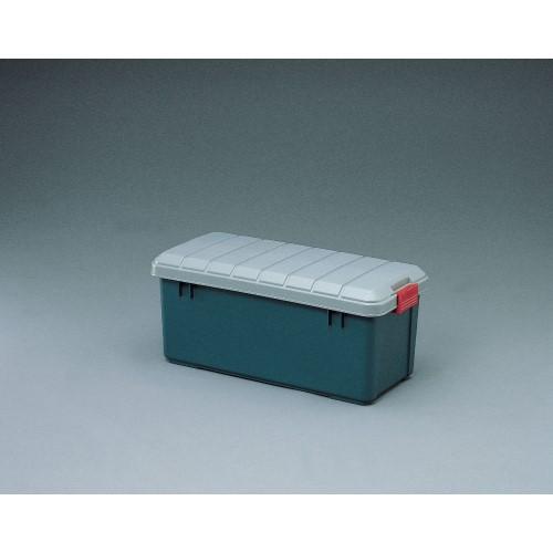 収納ボックス 車の備品整理箱に 便利 RVBOX グレー/ダークグリーン 4点セット