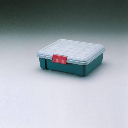 収納ボックス サブトランクに最適 ケース RVBOX  グレー/ダークグリーン 6点セット