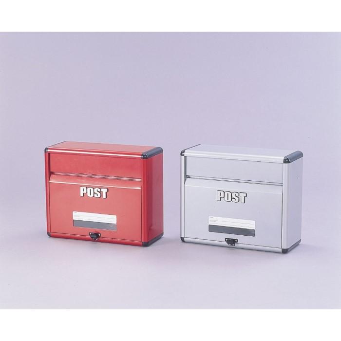 郵便受け 重厚感のあるアルミ ポスト 便利 生活 アルミポスト APT-400 【単品販売】レッド