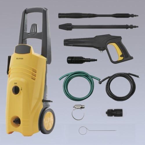 高圧洗浄機 ホース W290×D246×H742 人気 高圧洗浄機 【単品販売】(イエロー) FIN-801E(50Hz専用)