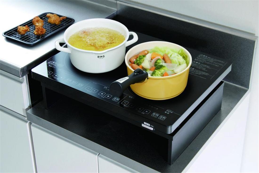 便利 家電 IH 調理器具 キッチン 台所 2口IHクッキングヒーター 200Vタイプ IHC-S225-B