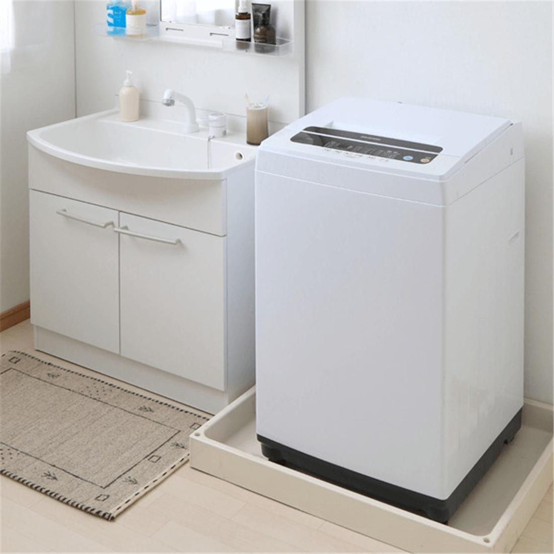 便利 えり そで 部分洗いするための専用のボードが付属 洗濯機 5.0Kg IAW-T501