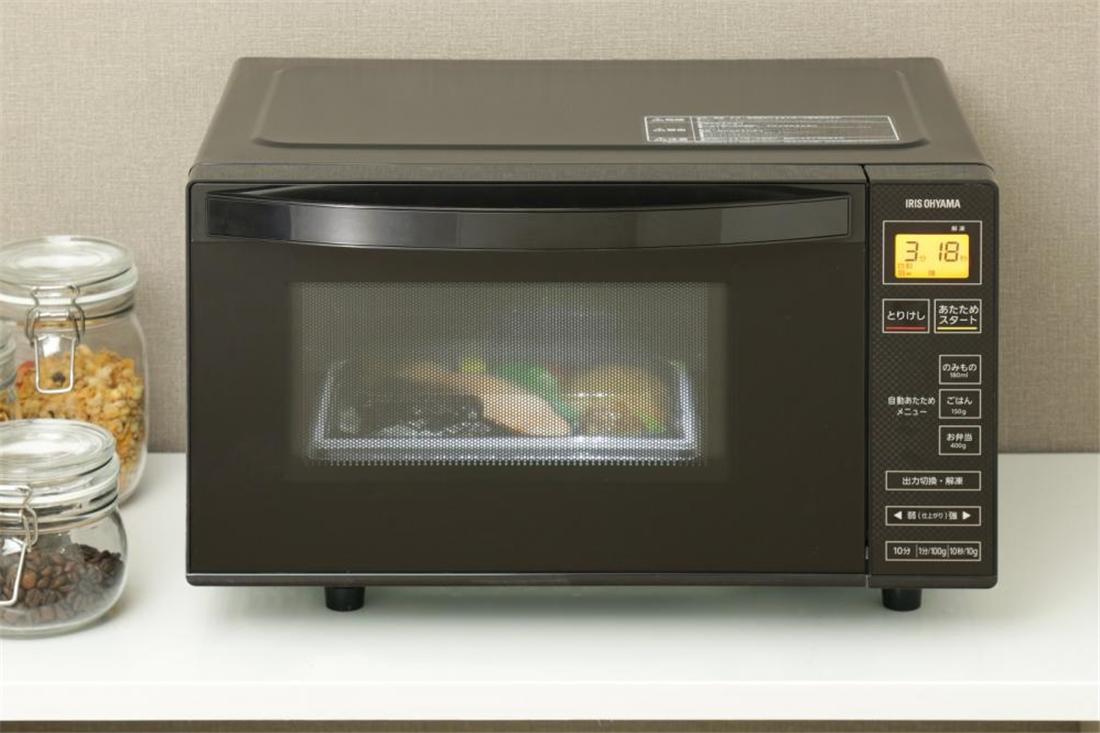 便利 レンジ 家電 調理器具 キッチン 台所 電子レンジ 18L フラットテーブル