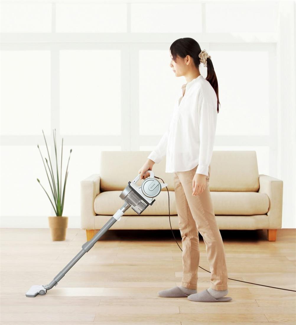 便利 掃除機 お掃除 家電 清掃 クリーナー サイクロンスティッククリーナー IC-S55E-S