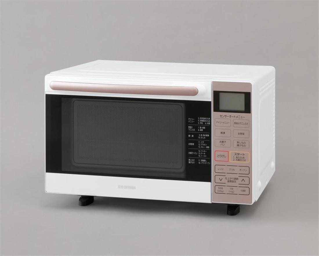 便利 キッチン 台所 調理器具 家電 レンジ オーブンレンジ フラットテーブル 18L