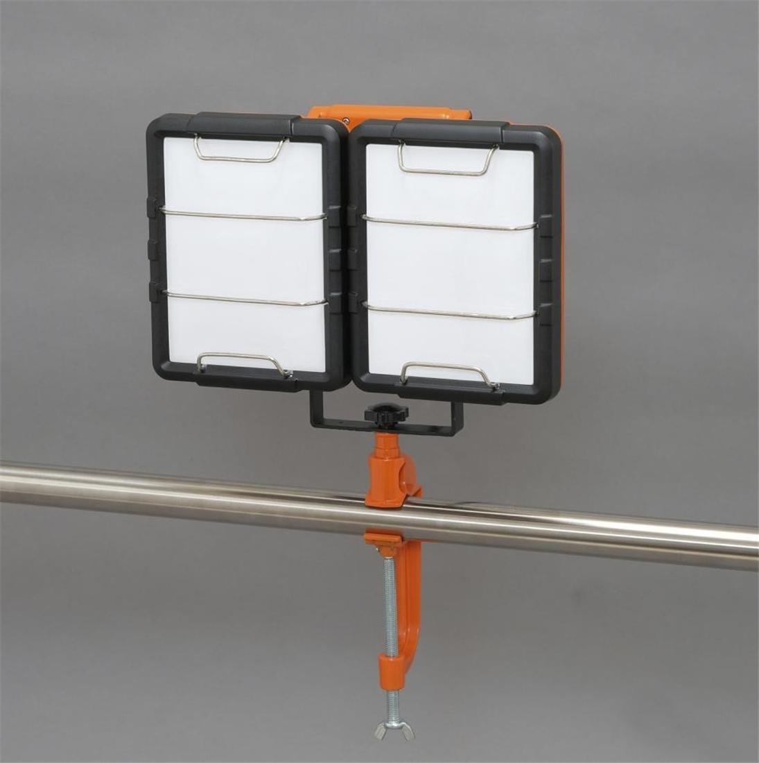 便利 LED 照明 灯り 明かり ライト ワークライト LEDクランプライト7500lm