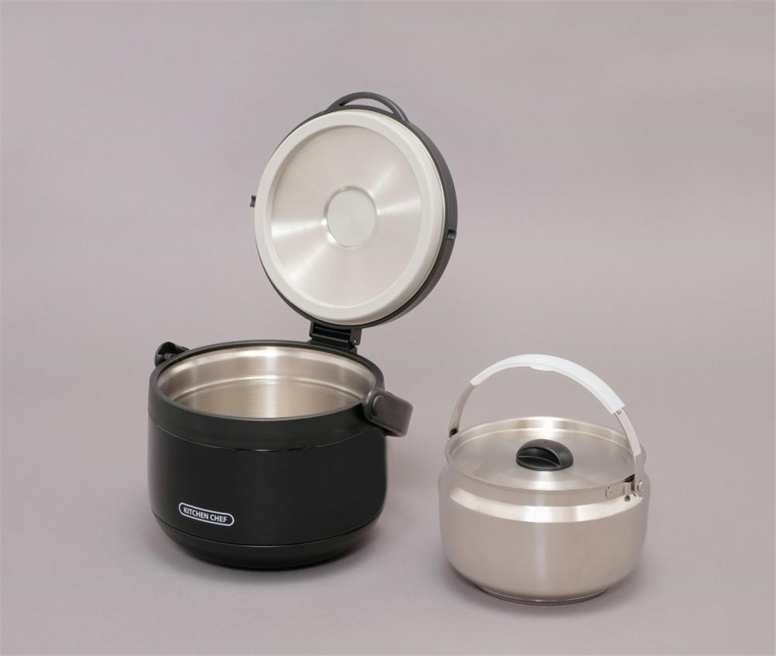 便利 調理器具 キッチン 台所 ダブル真空保温調理鍋 おまかせさん
