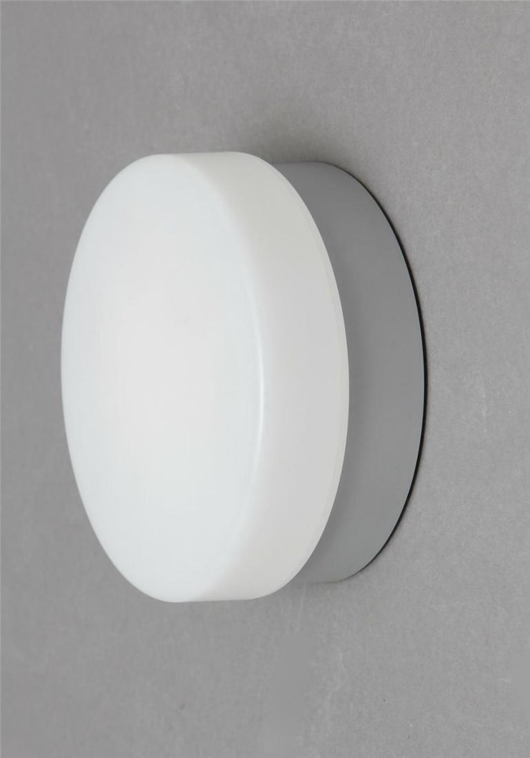 雑貨 便利 LED 照明 灯り 明かり ライト ワークライト LEDポーチ・浴室灯 円型 電球色相当 500lm