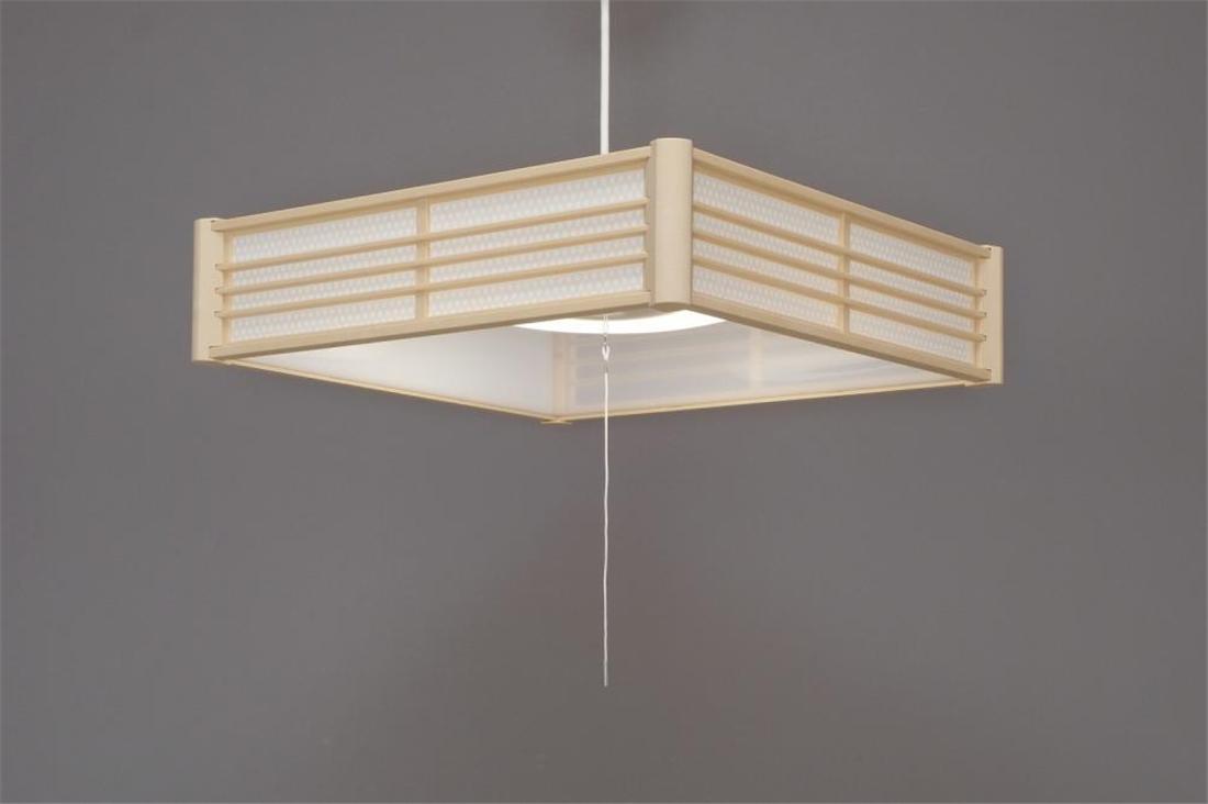 便利 LED 照明 灯り 明かり ライト LED和風ペンダントライト メタルサーキットシリーズ 調光 籠目 12畳
