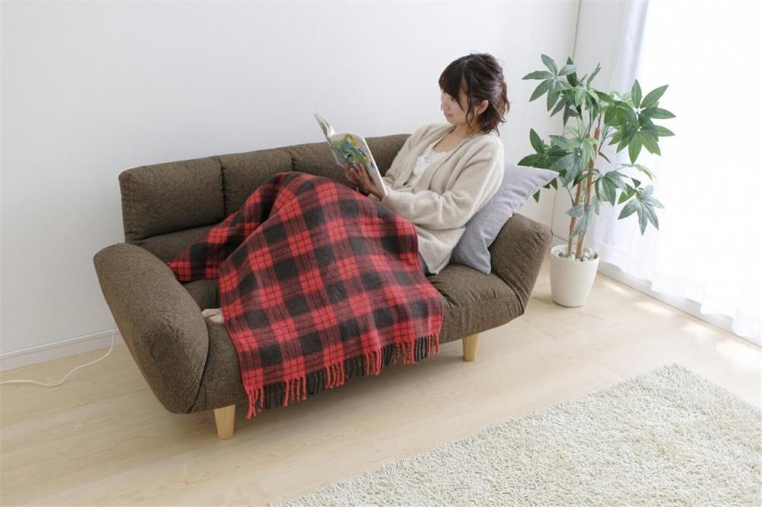 生活 雑貨 便利 暖房 あったかい 電気毛布 ひざ掛け