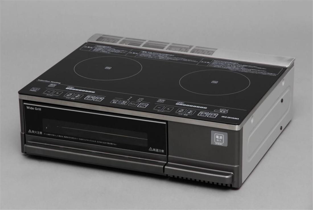 便利 家電 IH 調理器具 キッチン 台所 2口IHクッキングヒーター(据え置きタイプ)
