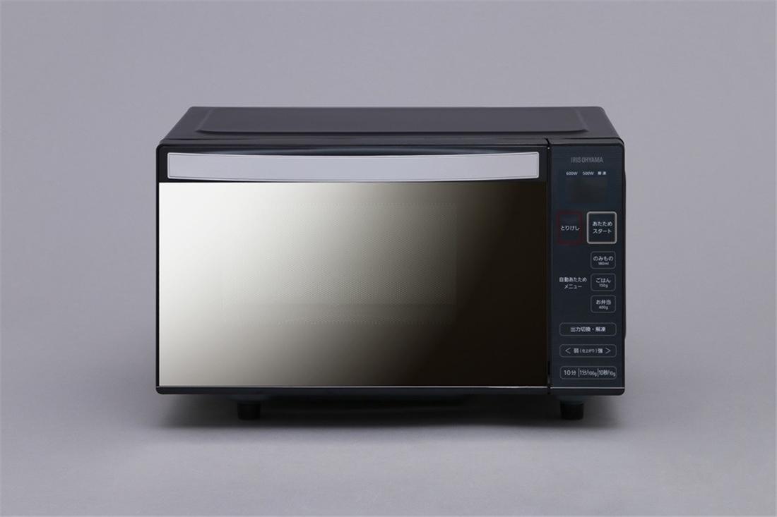 便利 レンジ 家電 調理器具 キッチン 台所 電子レンジ フラットテーブル ミラーガラス