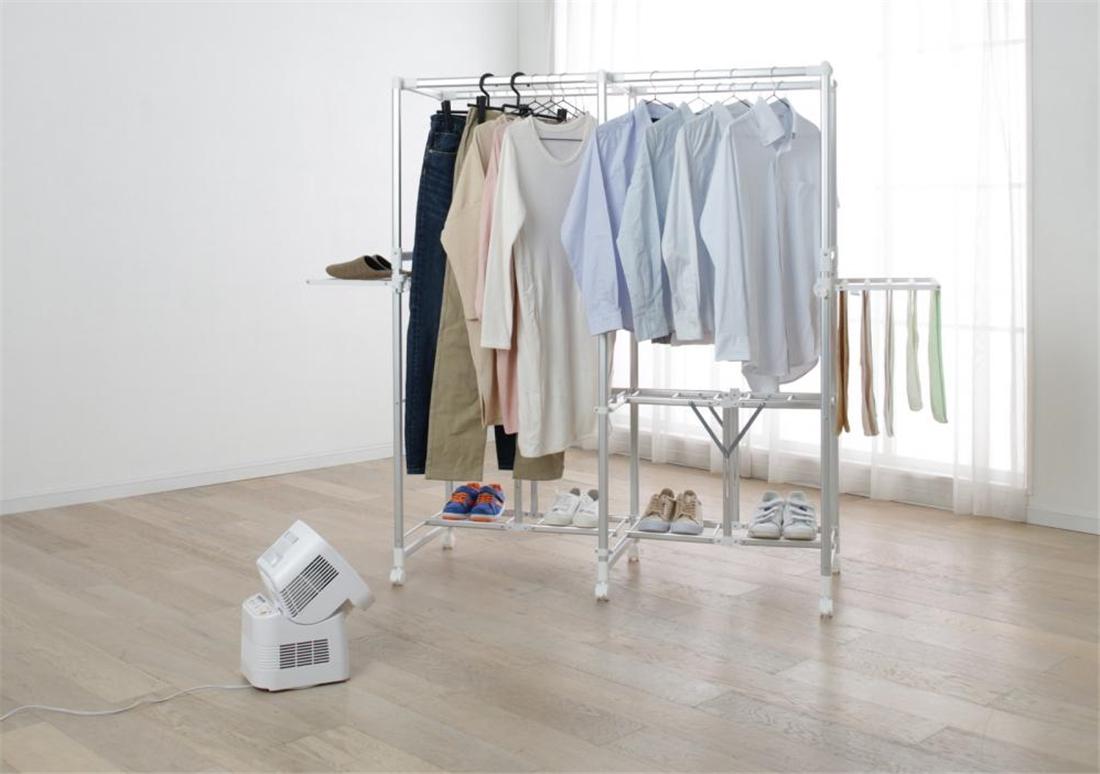 便利 スパイラル気流 乾燥時間を短縮 衣類 乾燥機 サーキュレーター 衣類乾燥機