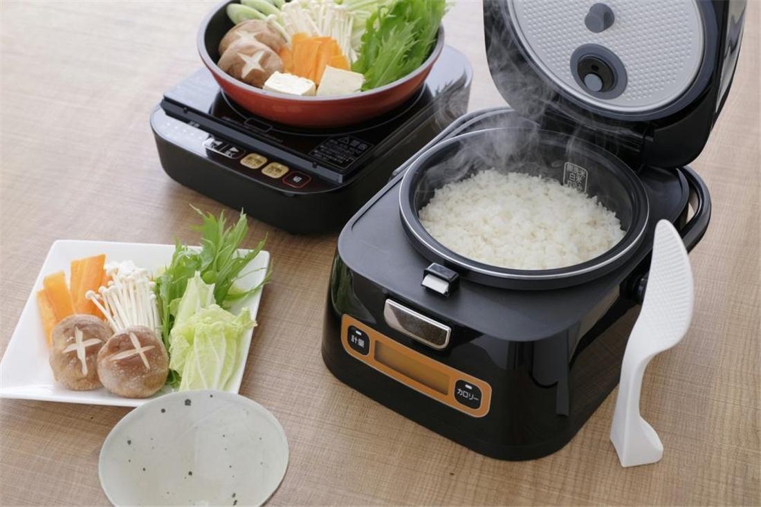 便利 炊飯器 家電 調理器具 キッチン 台所 銘柄量り炊き 分離式IHジャー炊飯器 3合 RC-IA31-B