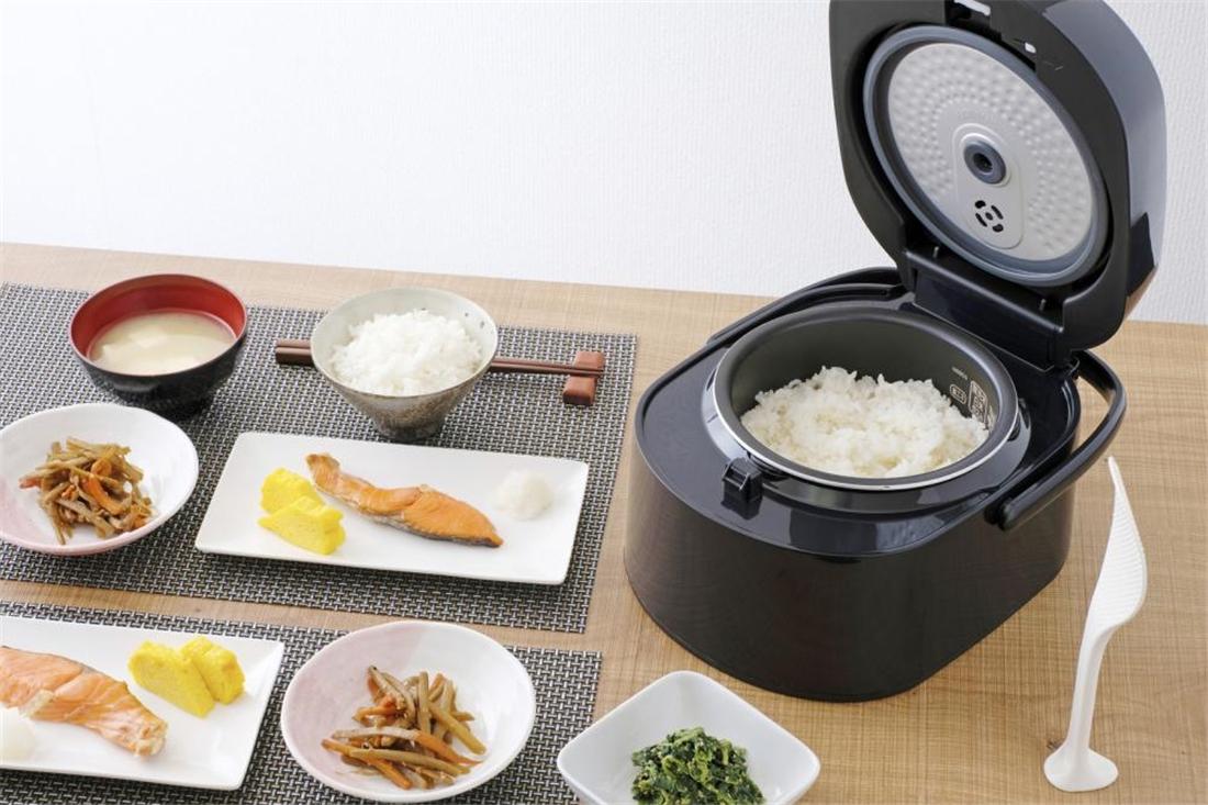 便利 炊飯器 家電 調理器具 キッチン 台所 銘柄炊き 分離式IHジャー炊飯器 3合 RC-SA30-B