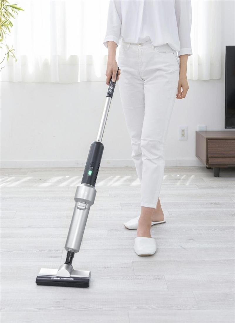 便利 掃除機 お掃除 家電 清掃 クリーナー 極細 軽量 スティッククリーナー IC-SLDCP5