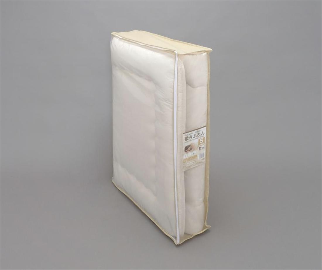 洗濯 可能 ポリエステル綿 敷き布団 シングルFPRS-S 寝具 安眠 快眠 オススメ 送料無料 生活 雑貨 通販