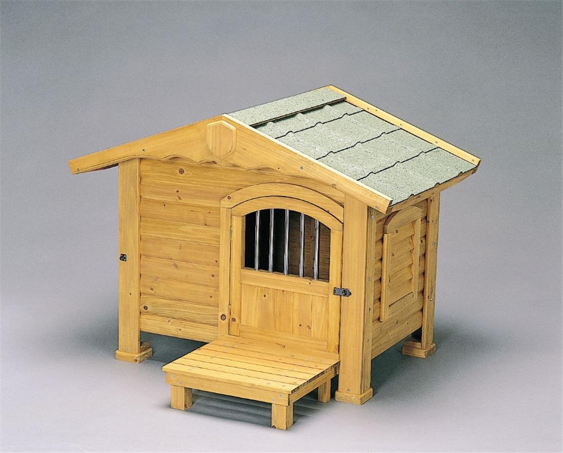 便利 大型犬 犬舎 ハウス 犬小屋 いぬ ワンちゃん ペット かわいい ロッジ犬舎 RK-950