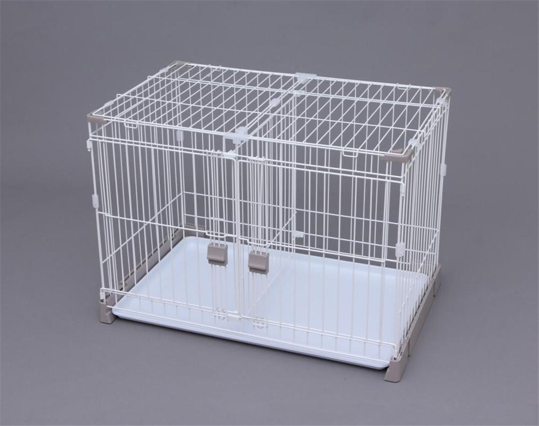 雑貨 便利 ペット 犬用品 いぬ かわいい お掃除楽ちん サークル屋根セット(仕切り付き) P-SS-906D ペット用品 サークル 犬用品 いぬ