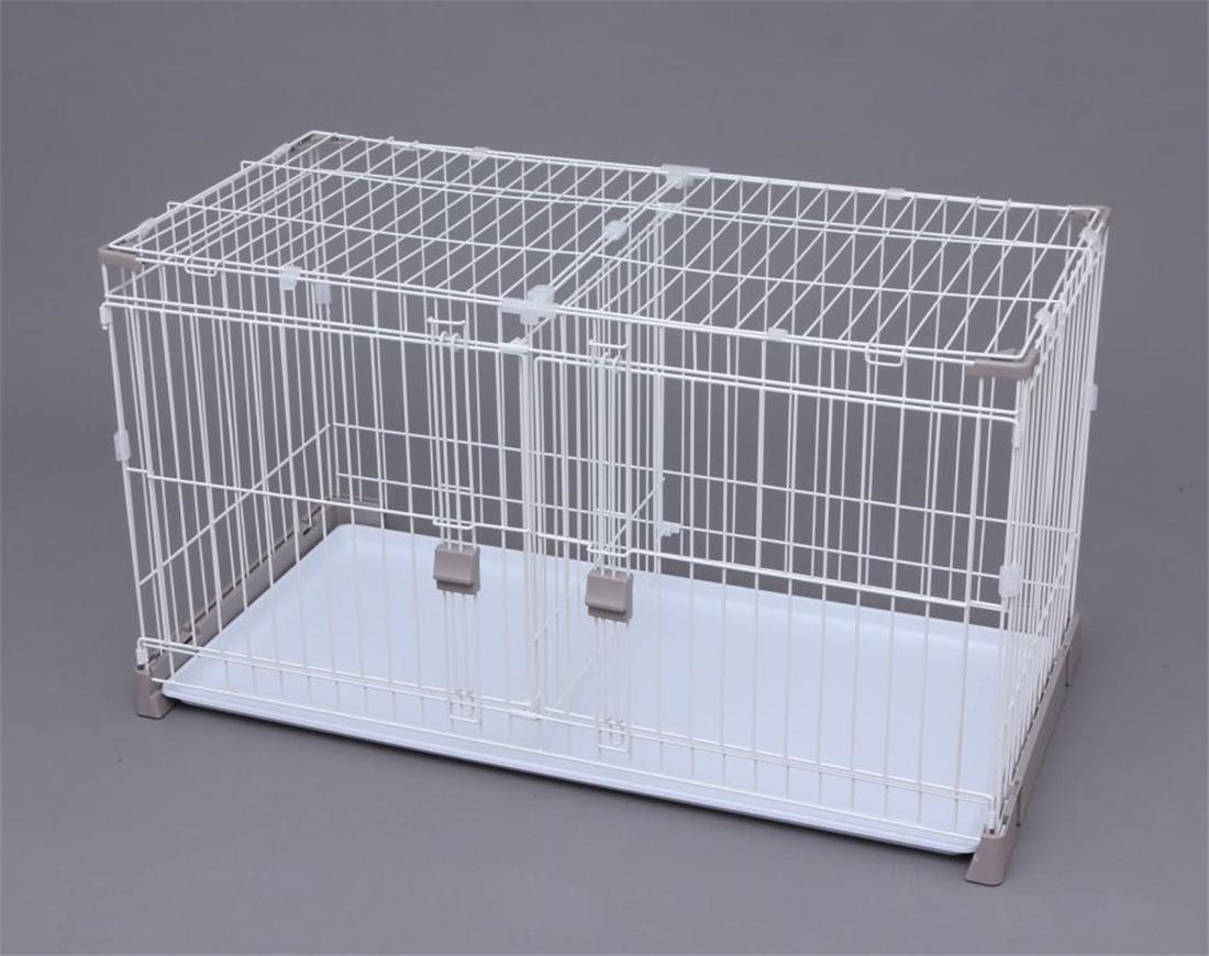 便利 ペット 犬用品 いぬ かわいい お掃除楽ちん サークル屋根セット(仕切り付き) P-SS-1206D ペット用品 サークル 犬用品 いぬ