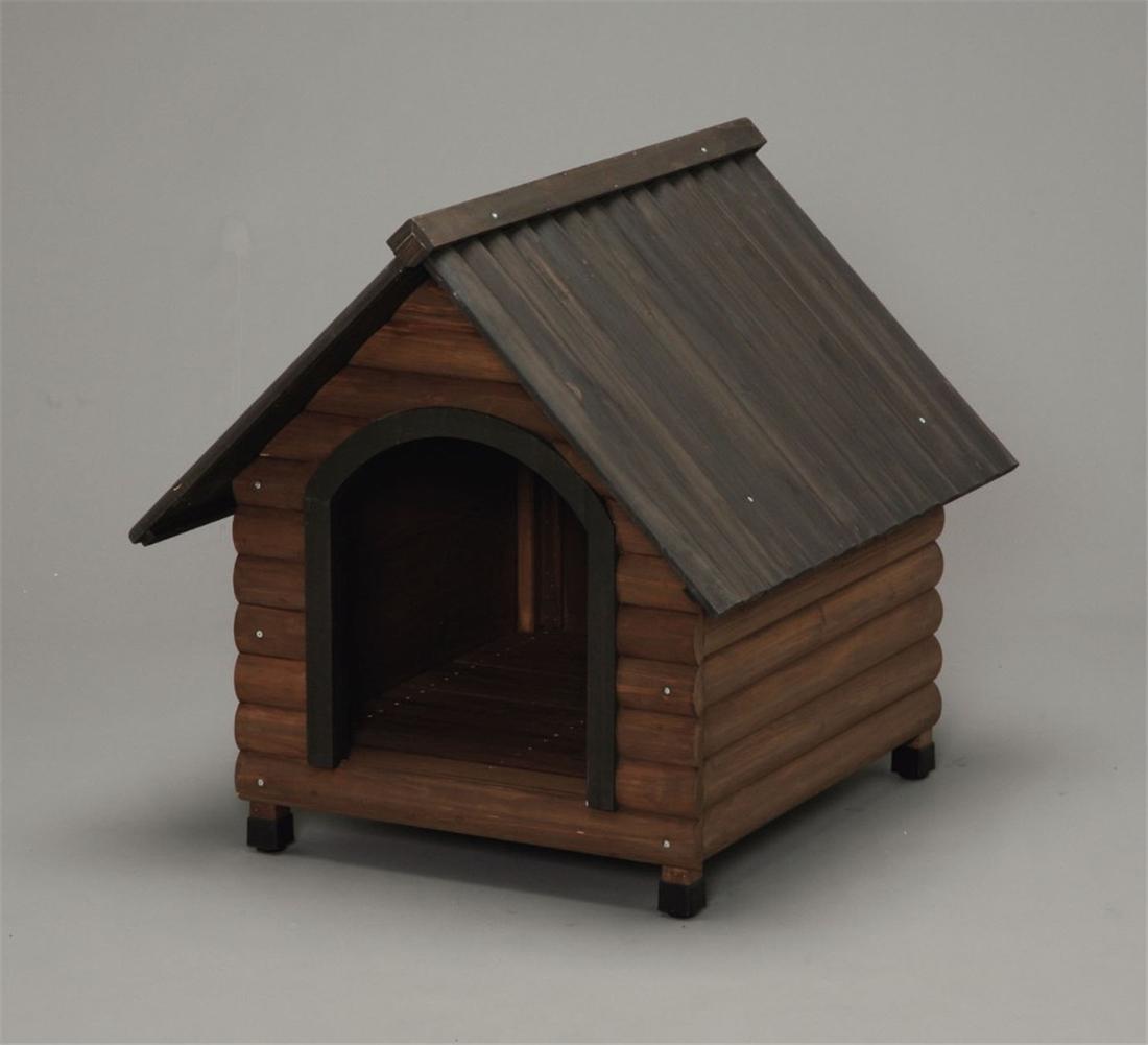 便利 中型犬 犬舎 ハウス 犬小屋 いぬ ワンちゃん ペット かわいい ログ犬舎 LGK-750
