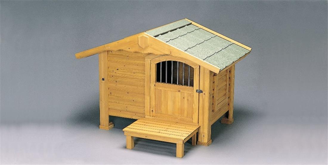 便利 大型犬 犬舎 ハウス 犬小屋 いぬ ワンちゃん ペット かわいい ロッジ犬舎 RK-1100
