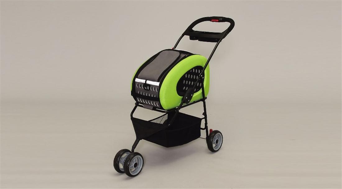 便利 犬 ネコ お出かけ 散歩 ペット用品 キャリー ハウス 4WAYペットカート FPC-920