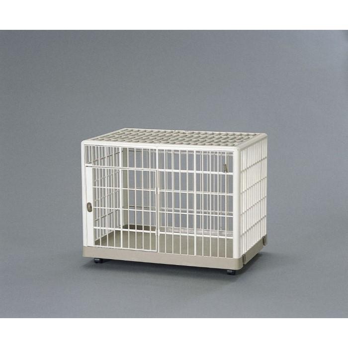 ハウス 家 サークル 小型犬 ウサギ プラスチック製のペットケージ!ベージュ