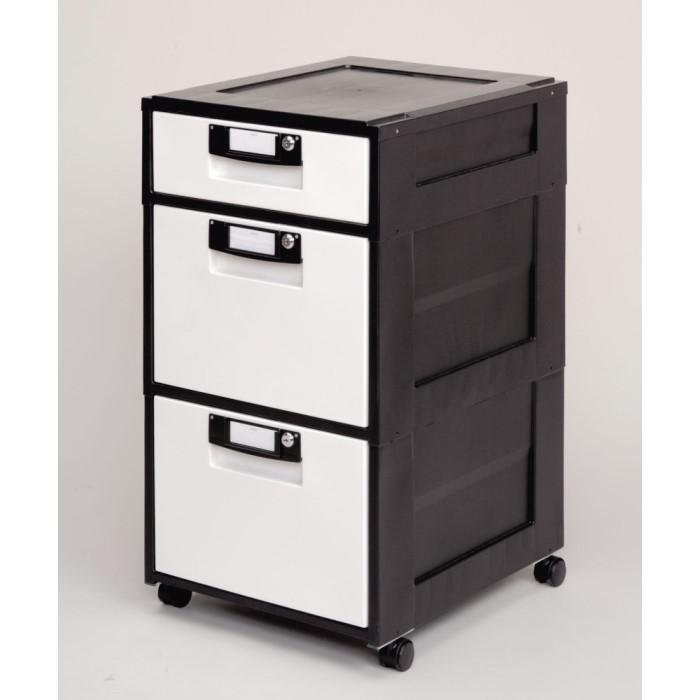 サイドキャビネット ファイル収納 に最適な 鍵付き オフィス キャビネット かわいい オフィスキャビネット