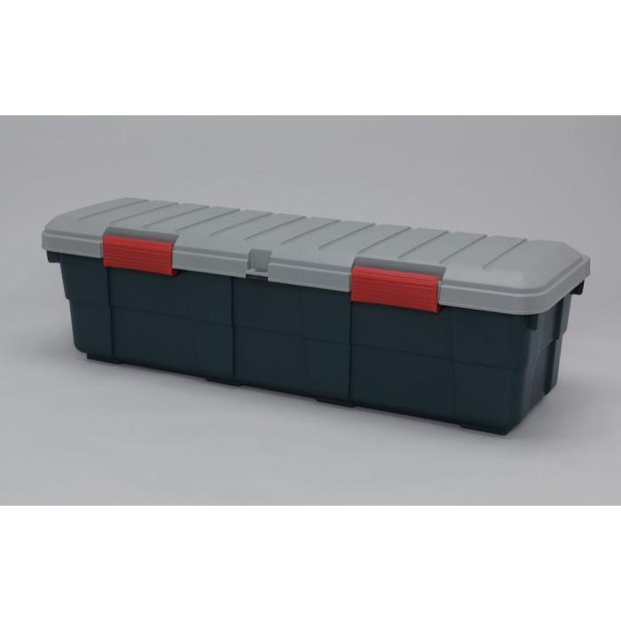 大型収納ボックス 車体用固定ベルト付き おすすめ カートランク カーキ/ブラック