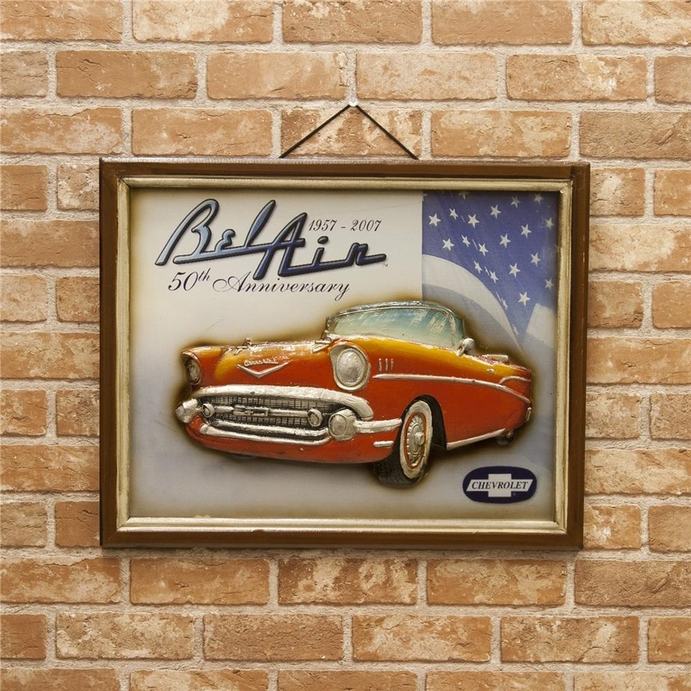 アンティークボード Chevrolet 50th Anniversary