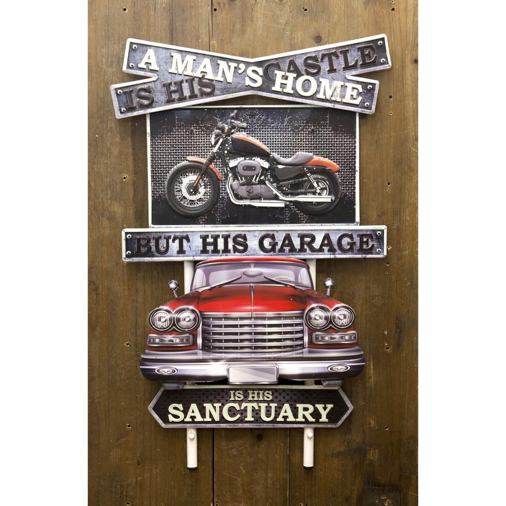 ウォールデコ 壁面装飾 看板 アメリカンスタイルウォールデコ A Man's Home