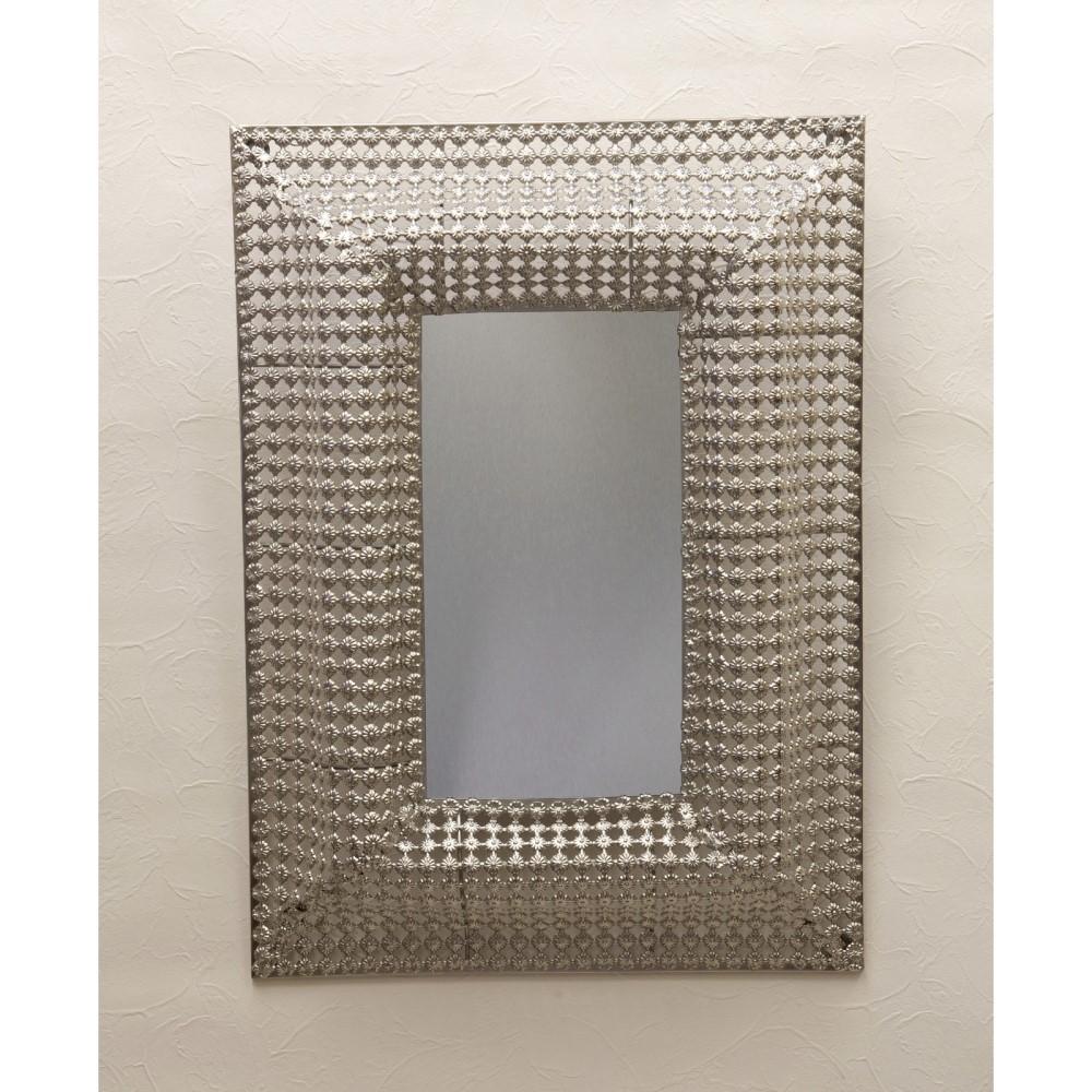 かがみ インテリア 鏡 デコレーションミラー デザイン:レクト (長方形)