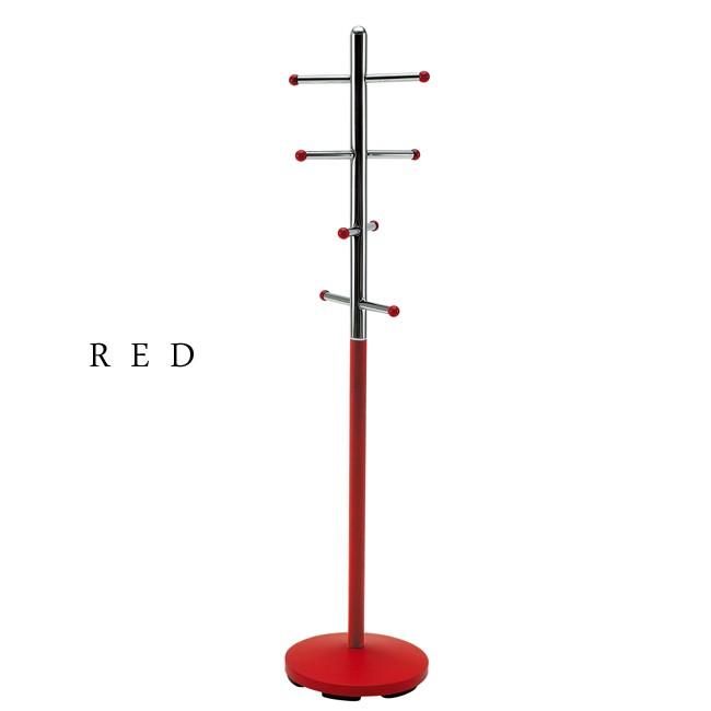 キッズポールスタンド【収納家具】2color 【単品販売】レッド