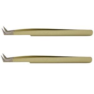 メディカラッシュ 国産精密ツイザーボリュームラッシュ専用B ゴールドメタリック 2本セットメディカラッシュ 国産精密 ツイザー ボリューム ラッシュ専用 B ゴールドメタリック 2本セット