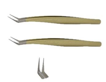 メディカラッシュ 国産精密ツイザーボリュームラッシュ専用A ゴールドメタリック 2本セットメディカラッシュ 国産精密 ツイザー ボリューム ラッシュ 専用 A ゴールドメタリック 2本セット