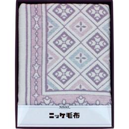 便利雑貨 綿混ウール毛布(毛羽部分) B3159054