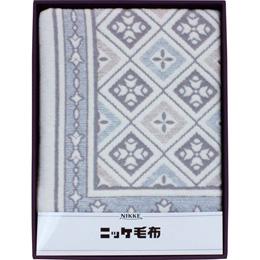 便利雑貨 綿混ウール毛布(毛羽部分) B3159047